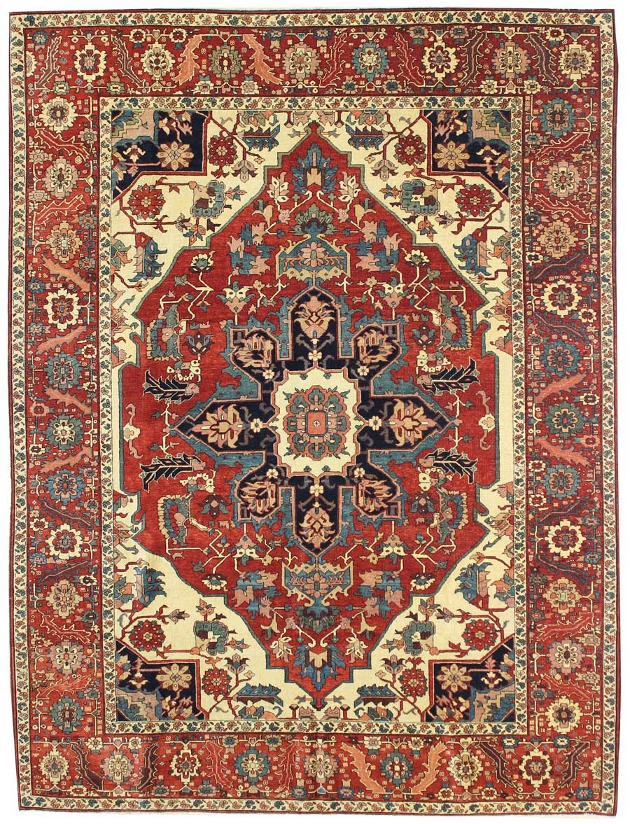Recent Arrivals Gallery: Serapi Design Rug, Hand-knotted in Turkey; size: