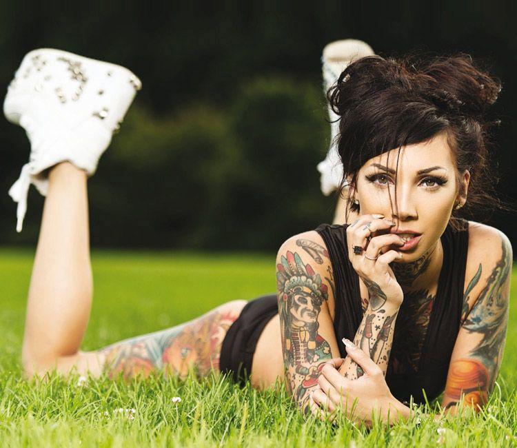 Tattoo photo of Sarah Ve | Girl tattoos, Tattoo models