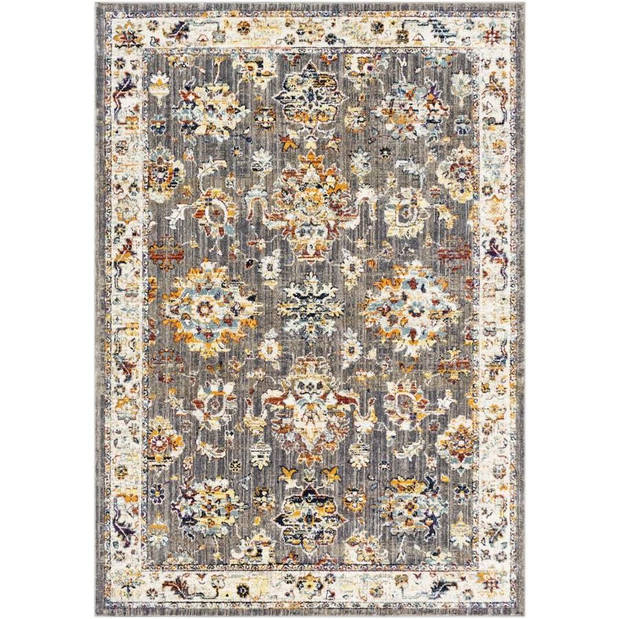 Surya Ararat 7 Ft10 In X 10 Ft3 In Updated Traditional Area Rug Charcoal Ara2303 710103 In 2020 Rugs Area Rugs Colorful Rugs
