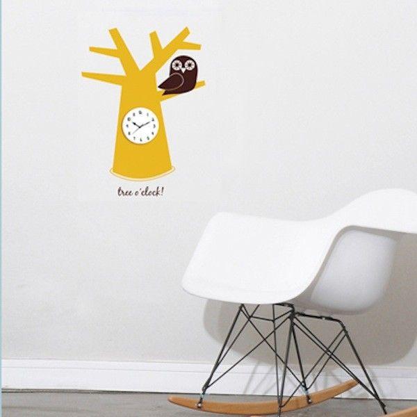 Över   Bilder Om Wall Clock Decals På PinterestKlockor - Wall decals clock