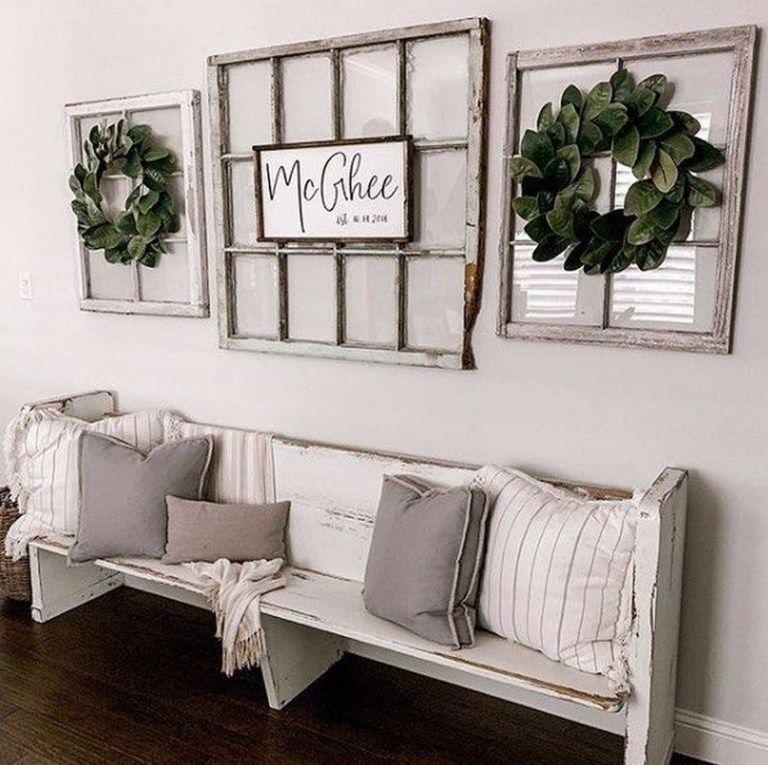 96 Beautiful Farmhouse Living Room Design And Decor Ideas 56