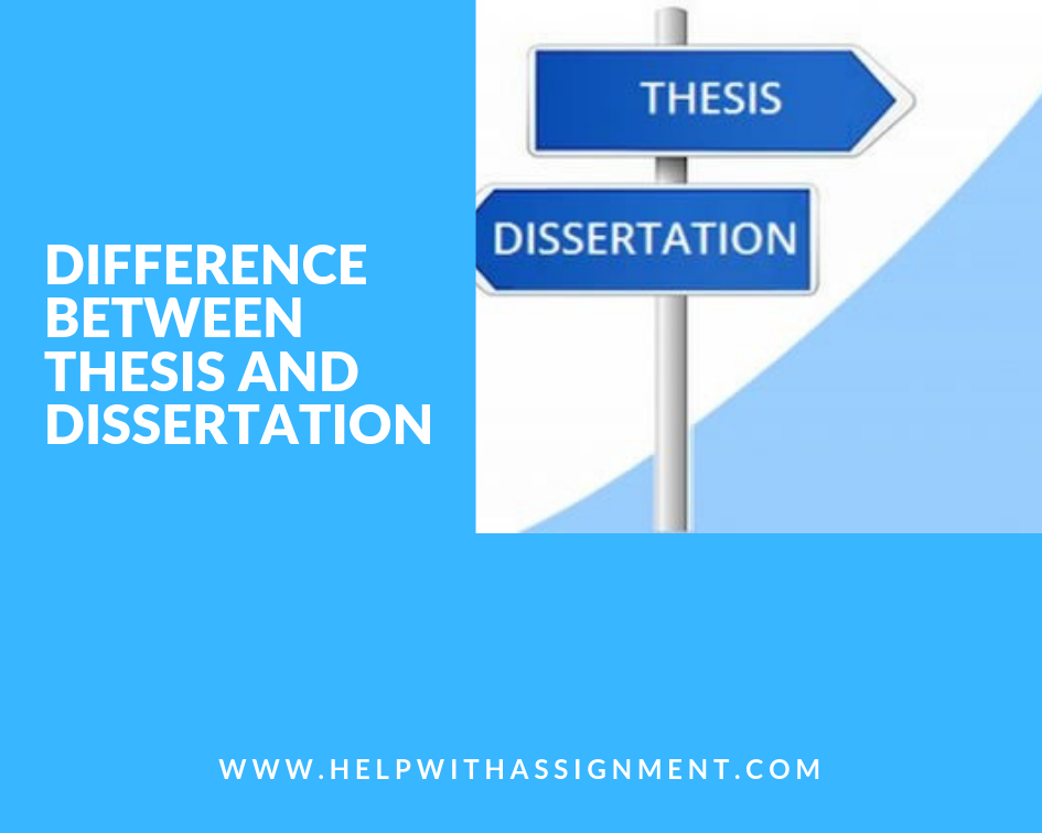 Assignment Help With College Homework Difference Thesi And Dissertation