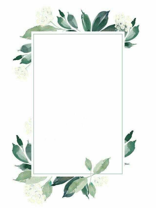 براويز واطارات جديده Flower Background Wallpaper Wreath Illustration Flower Wreath Illustration