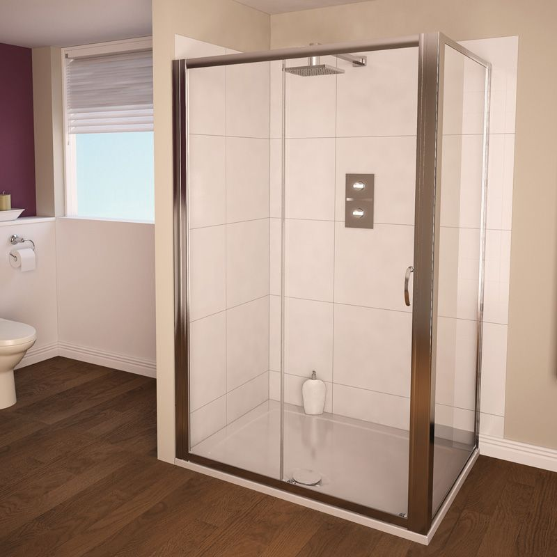 Aqua 4 Sliding Door Sliding Shower Door Shower Doors Shower Room