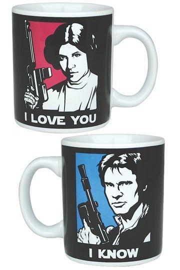 Mug I Love You Star Wars Princesa Leia Dibujos De Star Wars Pelicula De Star Wars