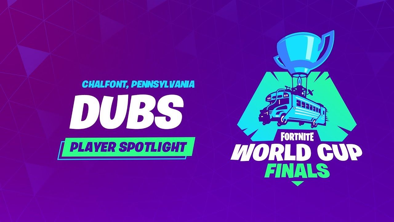 Fortnite World Cup Player Profile Dubs World Cup Fortnite World