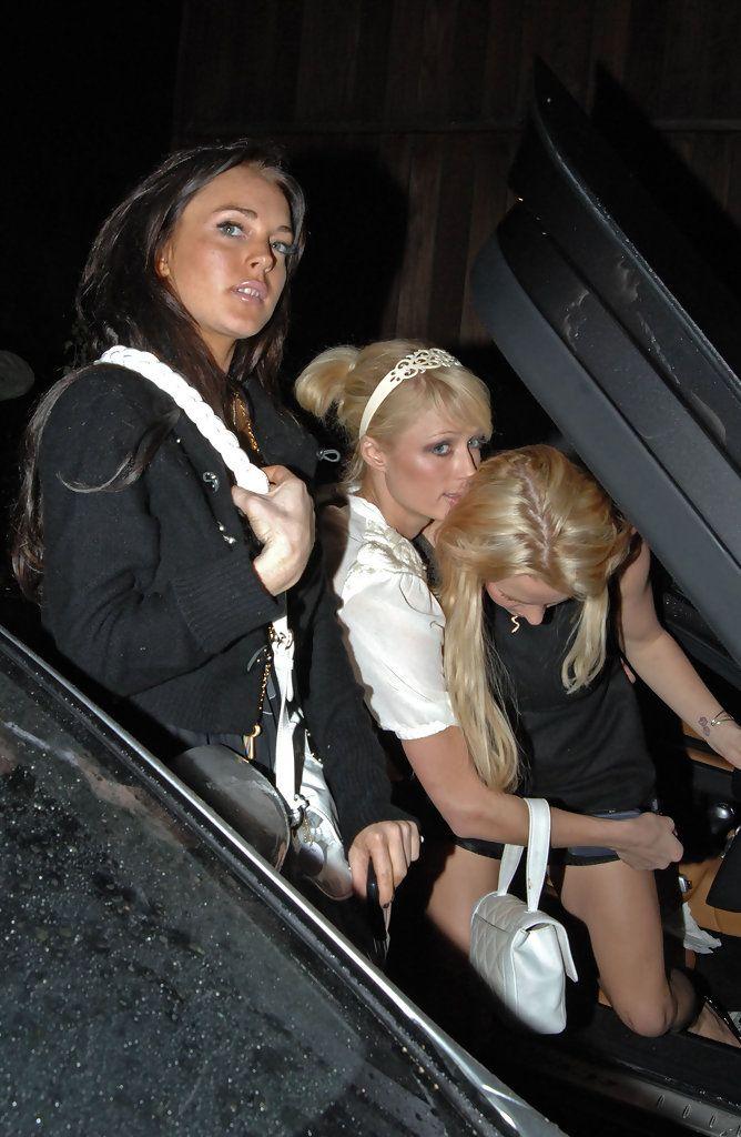hilton Britney spears paris