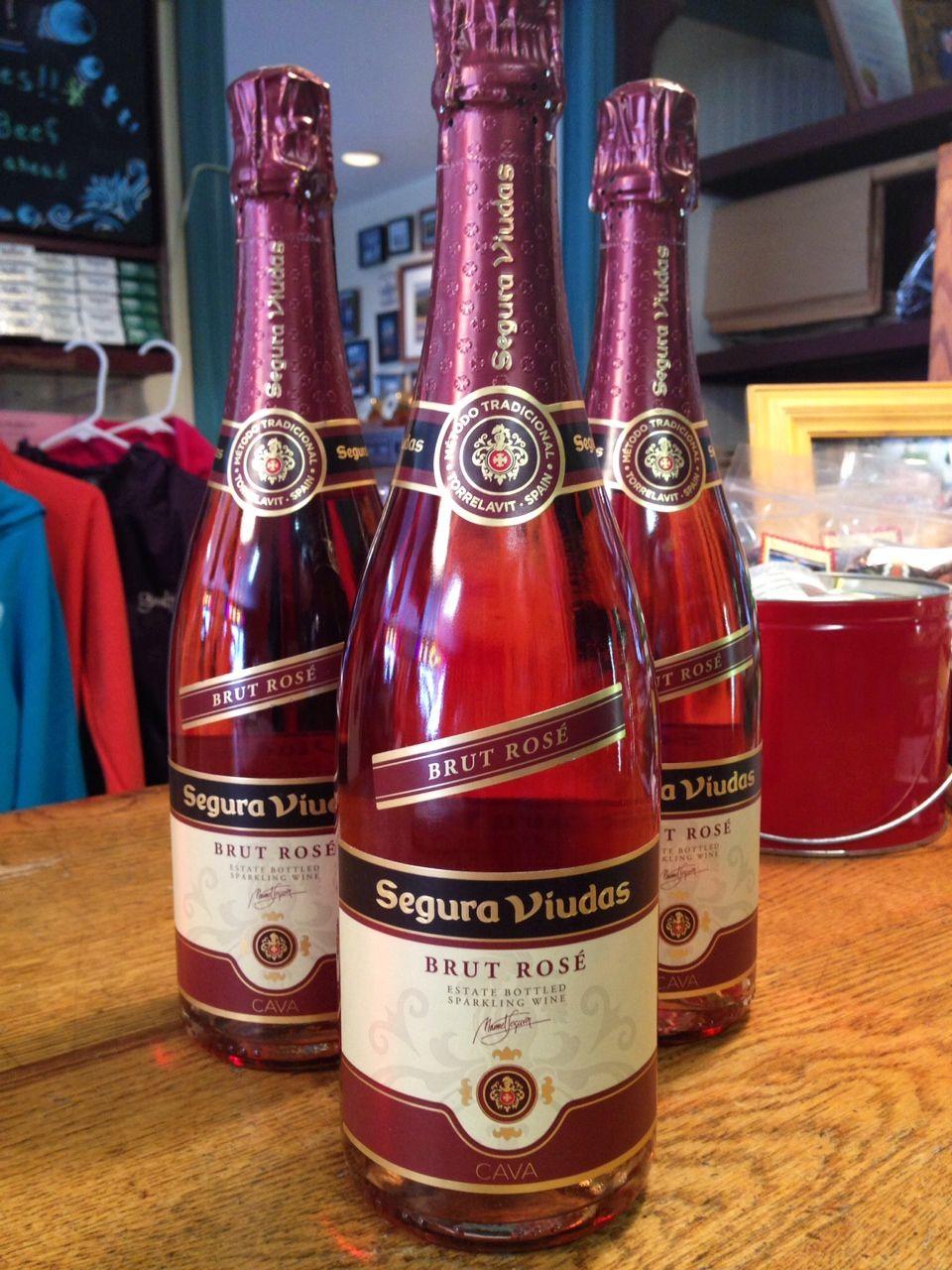 Segura Viudas Spanish Sparkling Brut Rose Wine Bottle Rose Wine Bottle Grocery Items