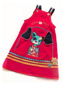 Liebhabestücke aus aniswelt: Ein pinkes Kleid mit Katze!