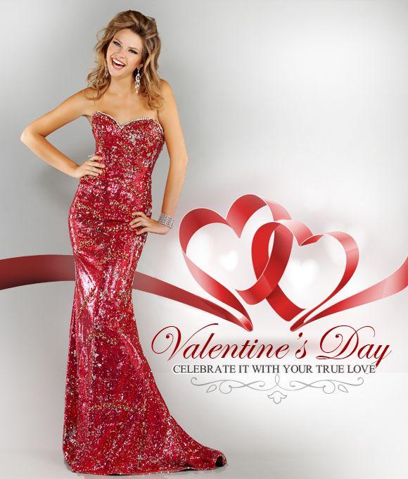 Valentines Formal Dresses