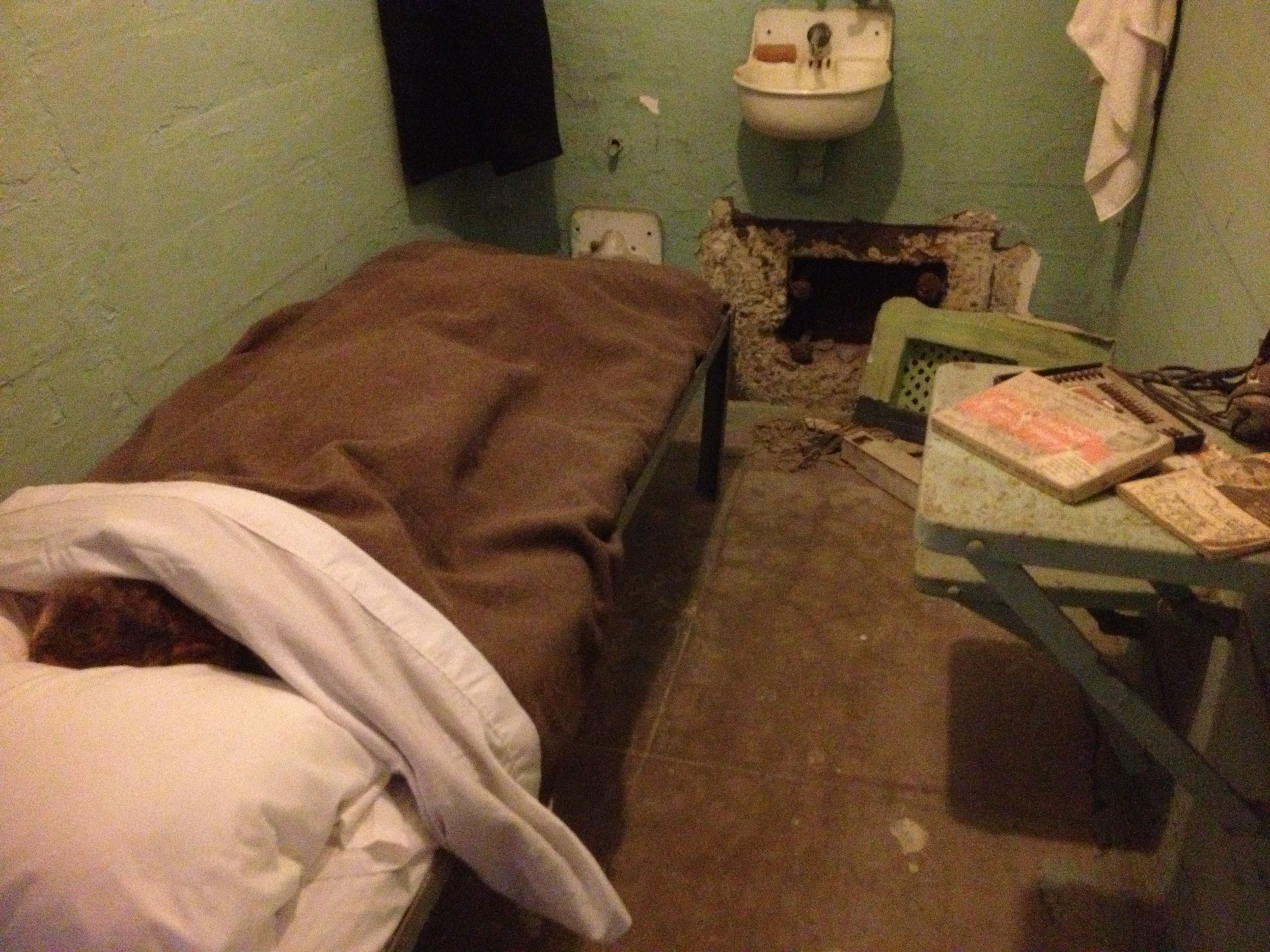 This Is One Of The Cells That Was Used In The Infamous Escape From