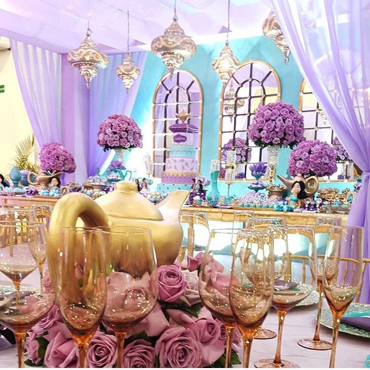 Aladdin Themed Wedding