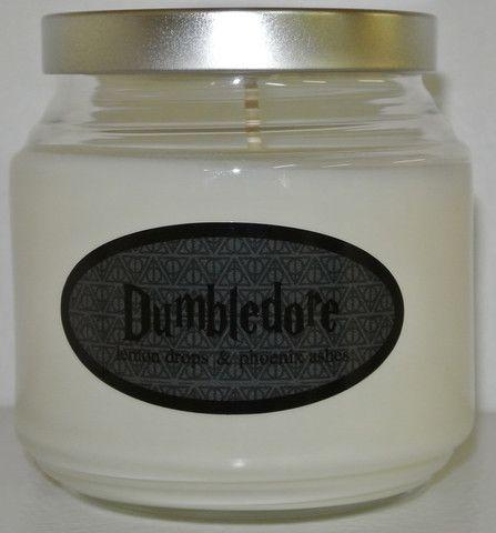 Lemon drop and phoenix ash scented candle