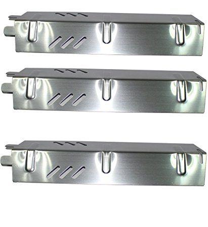 Broilmann Stainless Steel Heat Plate (3-pack) for Backyard ...
