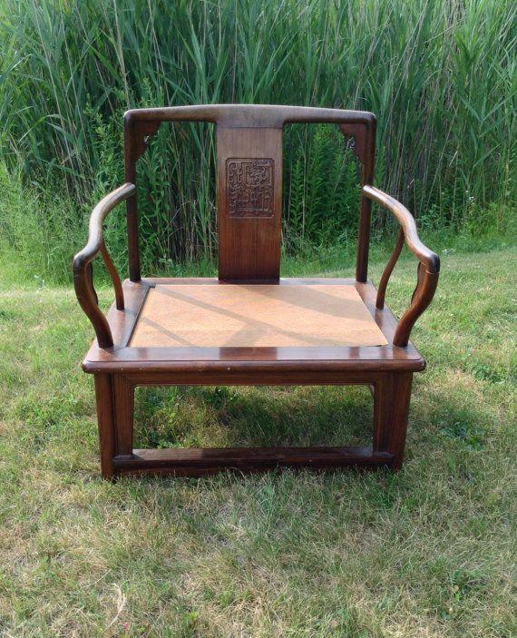 Prime Vintage Asian Chair Mid Century Chair 1940S Asian Chair Spiritservingveterans Wood Chair Design Ideas Spiritservingveteransorg