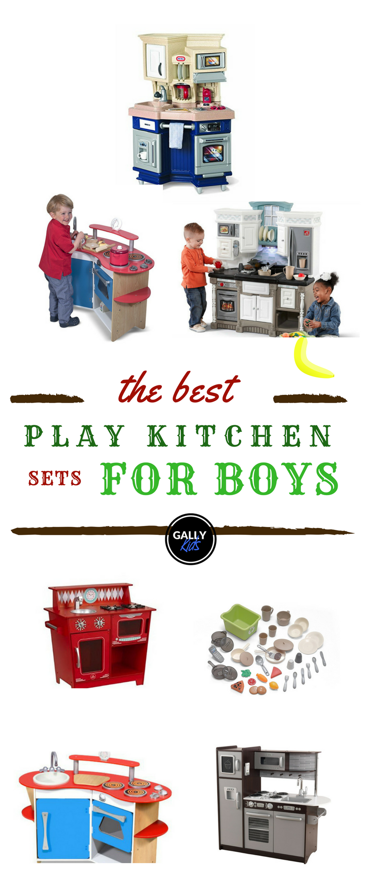 Best Boys Play Kitchen Sets 2018 Great For Pretend Play Babies