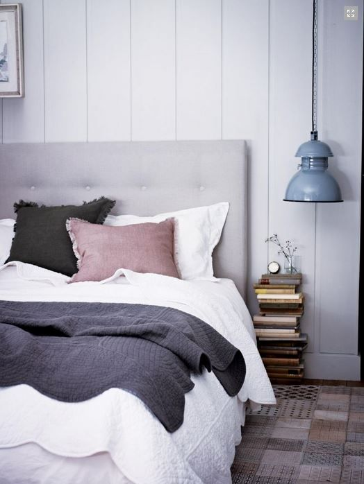 Light headboard and walls - smokey linens - Roomie Blog - All about a design led life in New Zealand
