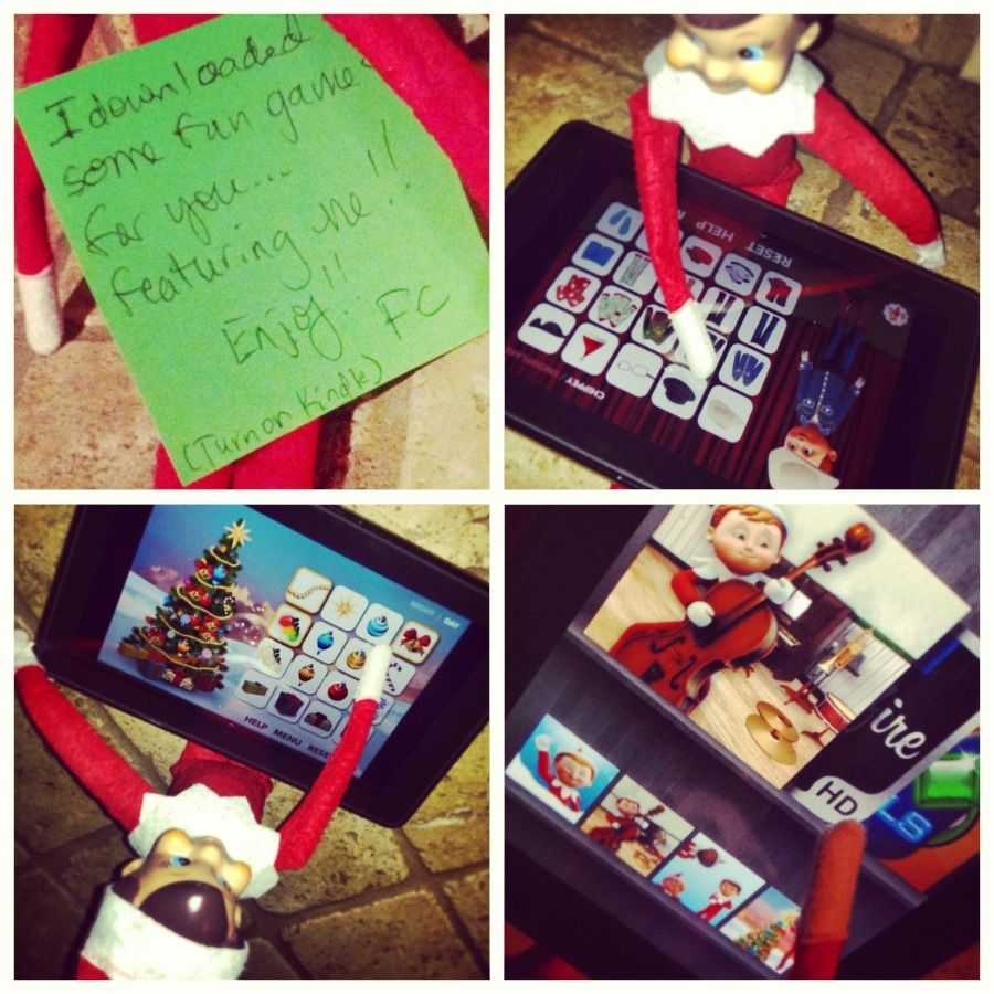 Elf on the Shelf Apps for the Kindle | Elf on the Shelf - Fruit Cake