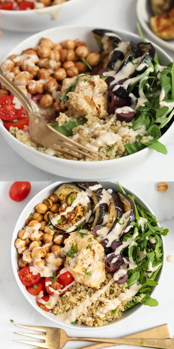 Mediterranean Quinoa Bowls | Easy Meal Prep Recipe