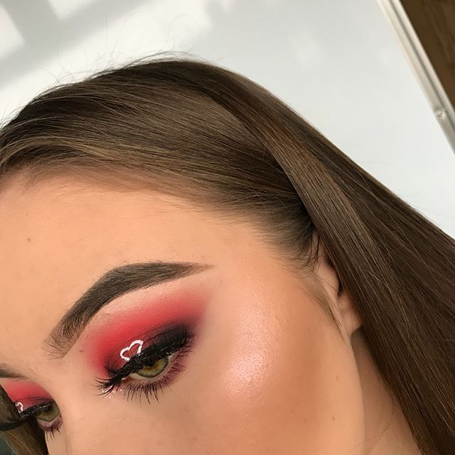 First Valentines Day Look Halo Heart Eye It Took My Several