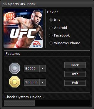 EA SPORTS UFC Hack Cheats! 100% Legit – [Working 2017] – Games Cheats EA SPORTS UFC Mod Apk (Endless Gold and Coins+) EA SPORTS UFC Hack Gold and Coins Cheats [Online … EA SPORTS UFC MOD APK 1.2.0 (Unlimited Gold and Coins, … EA SPORTS UFC Hack Cheats! 100% Legit – [Working 2017] key. EA …