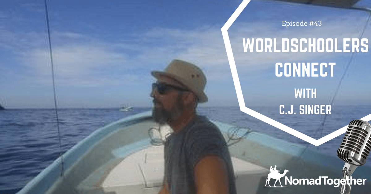 Check out the latest episode of the NomadTogether Podcast with Worldschooler Connect creator Cj Singer. We talked Worldschooling, Housesitting and the importance of MasterMinds.