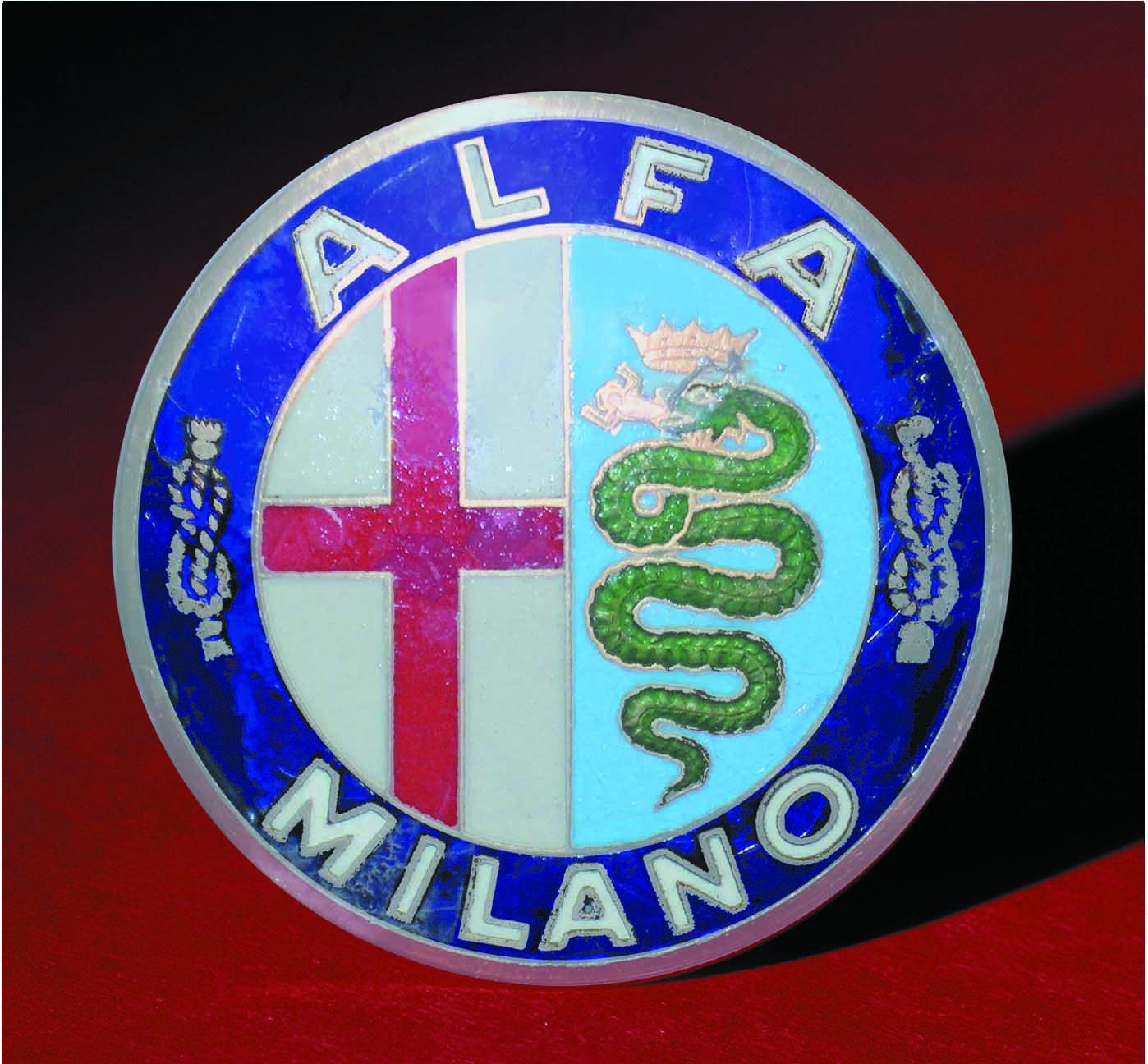 Logo Alfa Romeo 1912 - 1915--Milano, Italy.