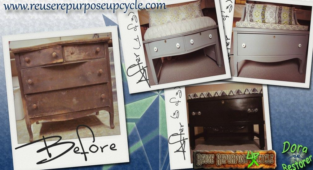 repurposed furniture before and after | ... Glory Vintage ... |Repurposed Furniture Before And After