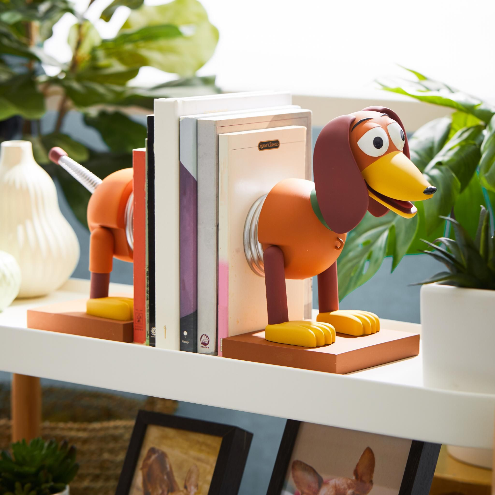 Disney Pixar Toy Story Slinky Dog Bookends Boxlunch Exclusive In