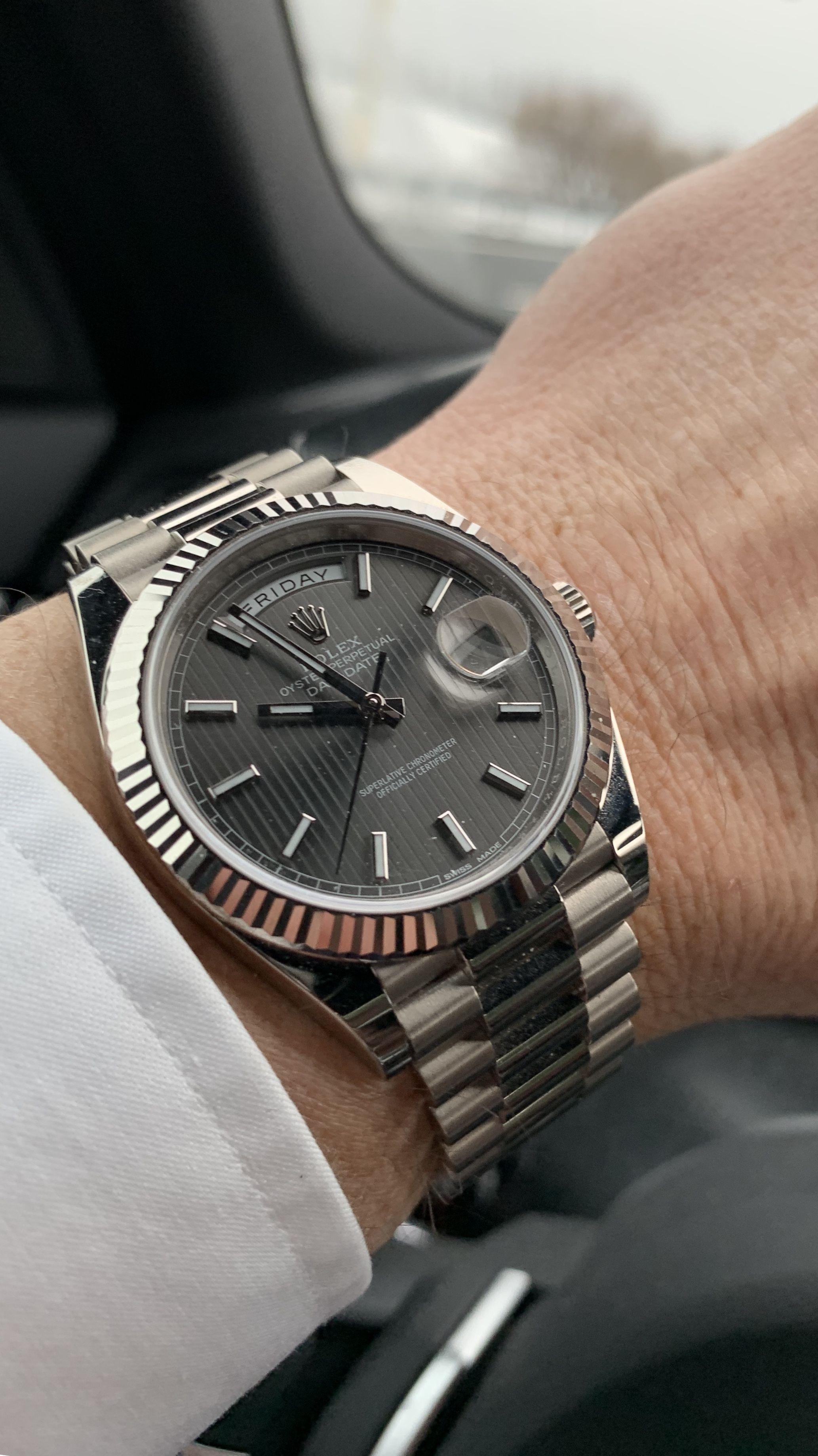 The perfect Rolex. Beautiful, Classic, Distinguished