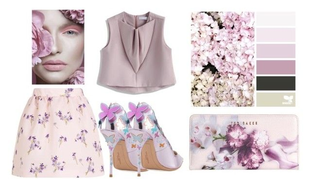 """""""Untitled #792"""" by capm ❤ liked on Polyvore featuring RED Valentino, Chicwish, Sophia Webster and Ted Baker"""