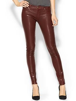 Hudson Jeans Wax Coated Krista Super Skinny | Piperlime