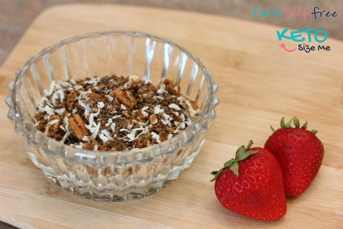 Low Carb Keto Cereal