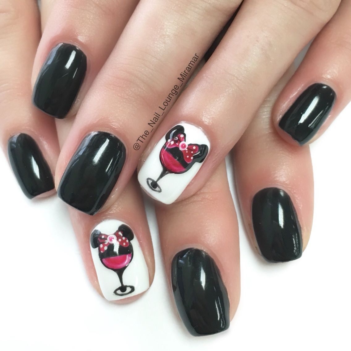 Epcot Disney\'s food and wine Mickey Mouse nail art design | Nail Art ...