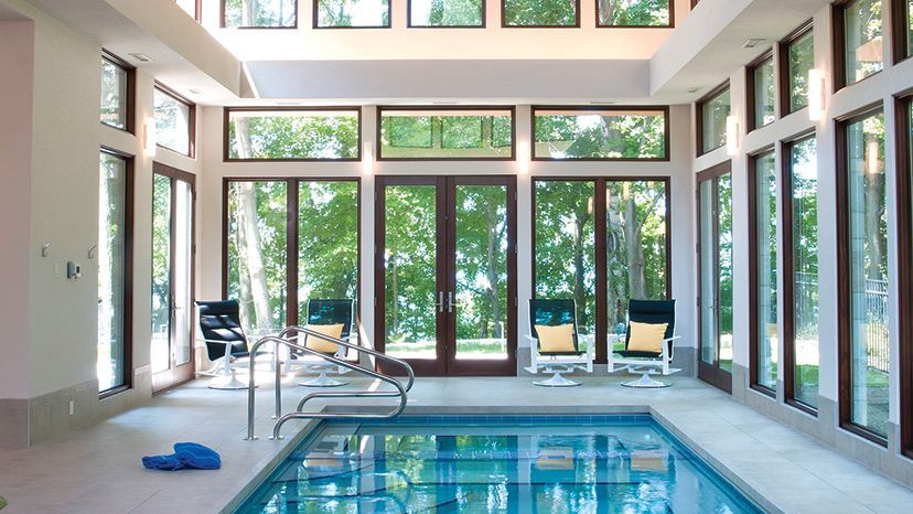41 Best Inspiration Window Indoor Swimming Pool Design Ideas With Pictures Indoor Pool House Indoor Pool Design Pool Houses