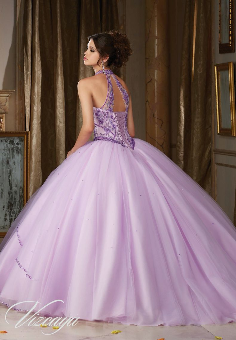 morilee vizcaya quinceanera dress 89114 jeweled beading on