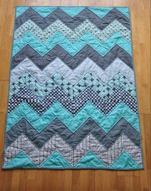20 Baby Quilts For Beginners Chevron Quilt Tutorials Baby Quilt Patterns Quilt Patterns