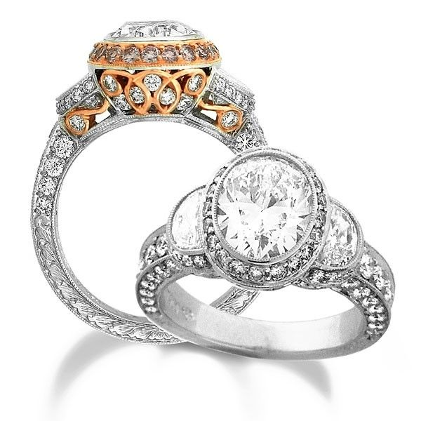 925 Silver Glod Filled White Sapphire Birthstone Engagement Wedding Ring 331