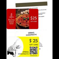Custom Gift Card Printing By Printingworx Gift Card Printing Custom Gift Cards Gift Card