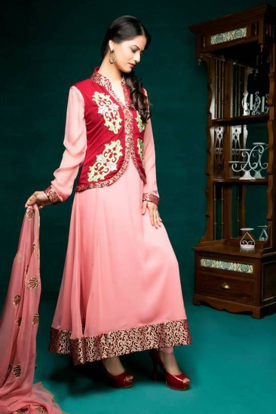 35e57d57c94 Amna Ismail Semi-Formal Winter Collection 2014-2015 for Women ...