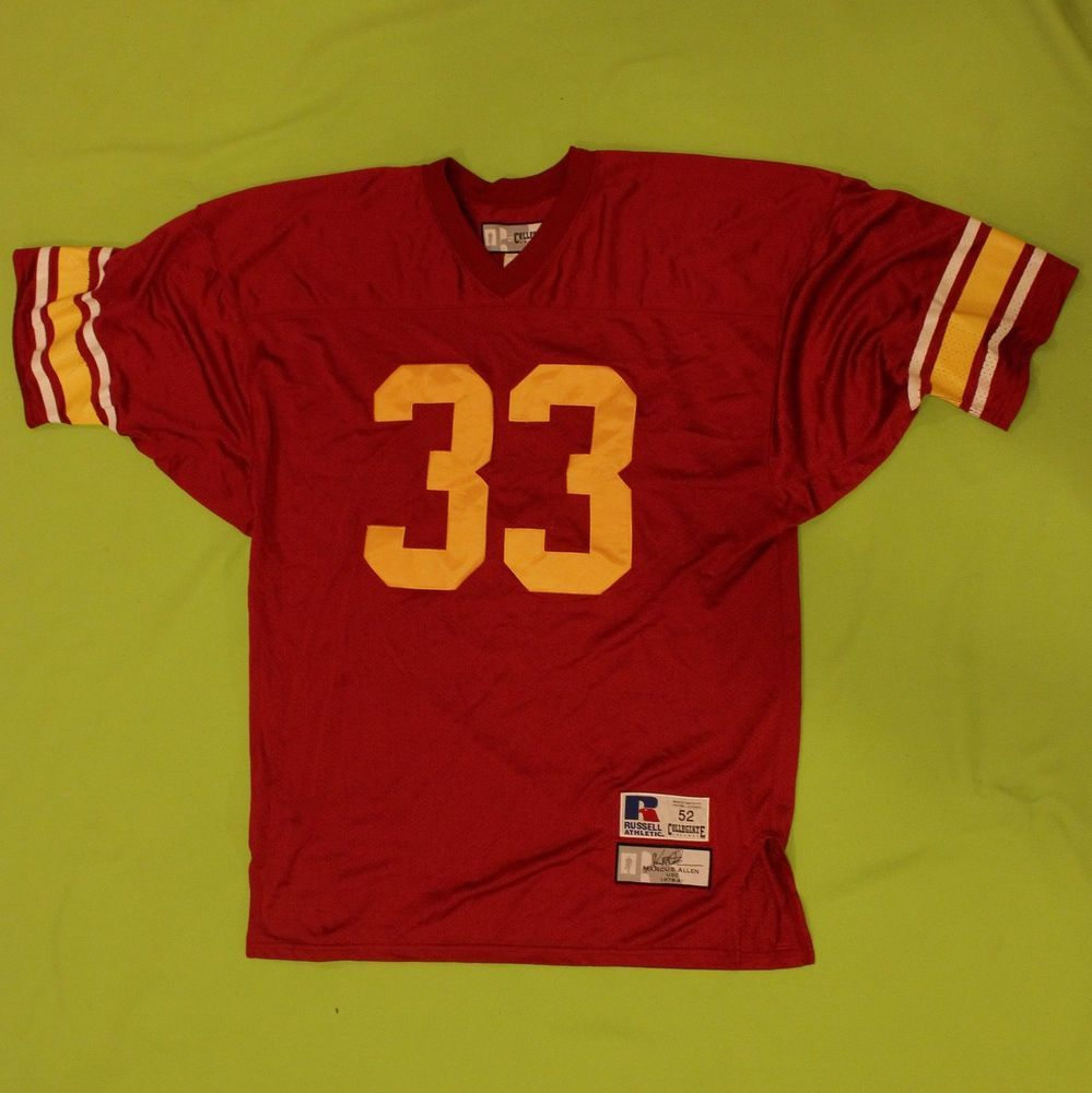 lowest price f380a 298d6 Marcus Allen USC Jersey Collegiate Legends Russell Athletic ...
