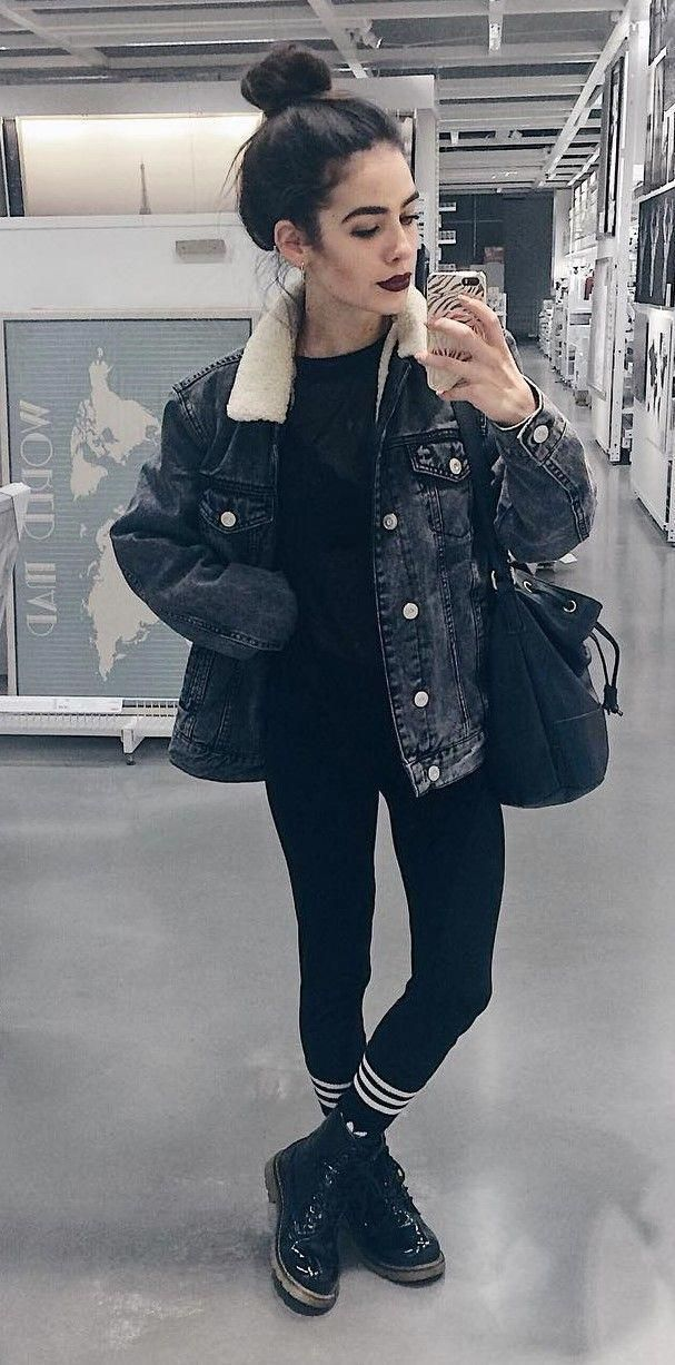 Best 34 Outfit Ideas for this Winter - #fashion #grunge #winter #womensfashionideas #wintergrunge