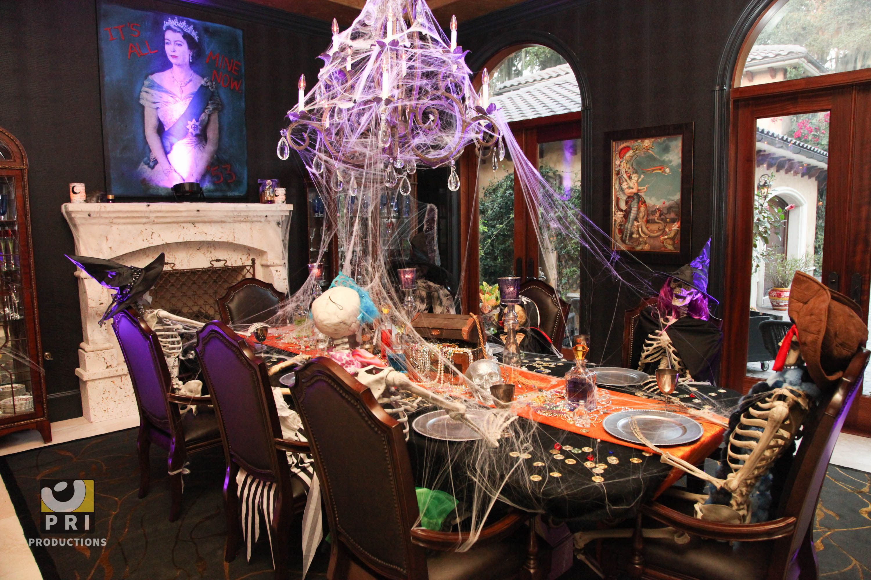 Spooky Pirate Themed Halloween Party Decor
