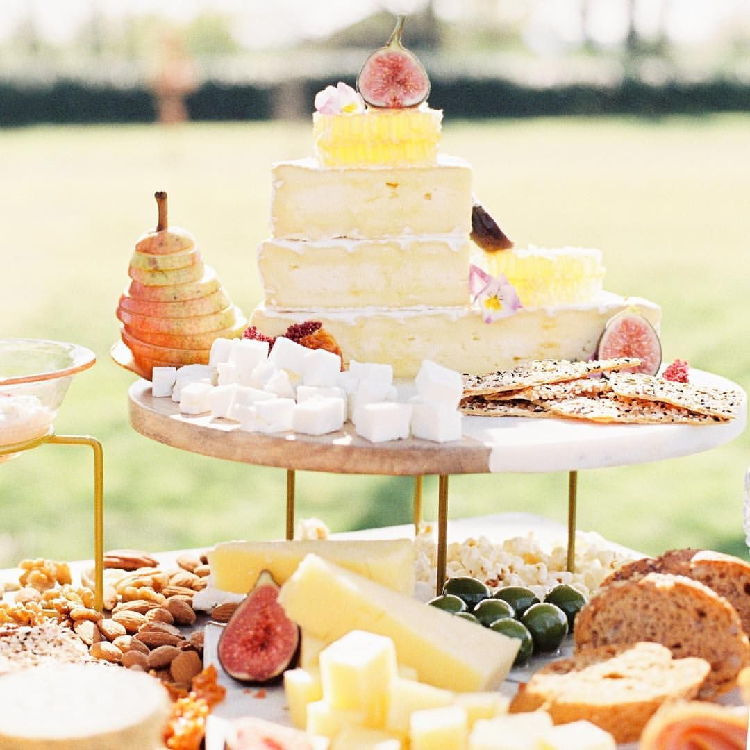 The Curated Kitchen Luxury wedding grazing station