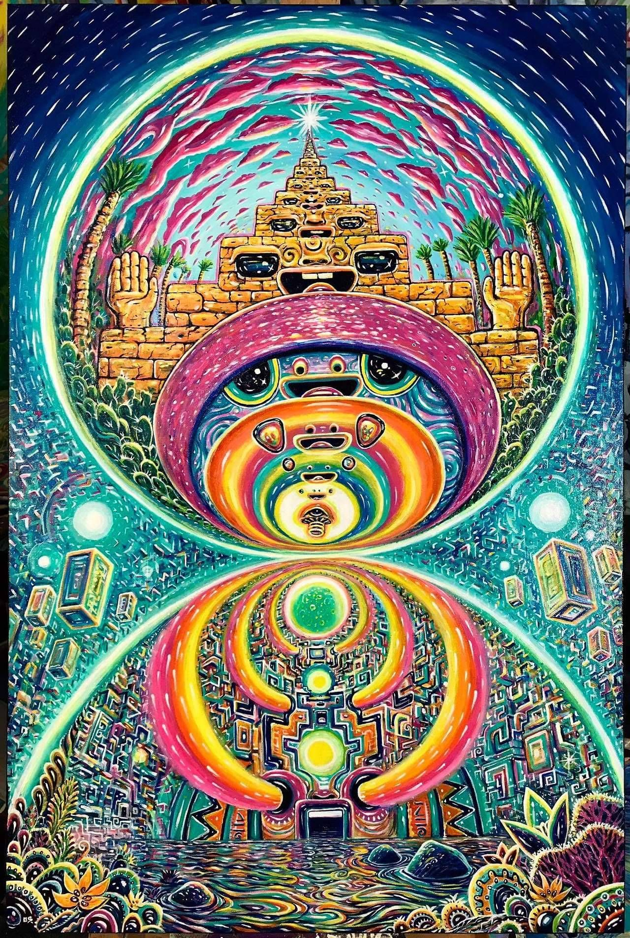 6178c095b527 Shifting Dimensions by Chris Sukut Psychedelic Experience
