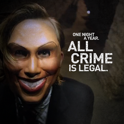 The Purge 2013 Poster