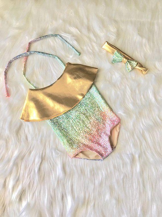 Baby Swimwear Baby Swimsuit Toddler Swimsuit Girls Swimsuit Kids One piece Bathi...  - Ava's 4! - #A...