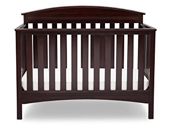 Delta Children Abby 4 In 1 Convertible Crib Dark Chocolate Leaving The Baby Alone In A Crib Will Never Be A Problem And Delta Children Cribs Convertible Crib