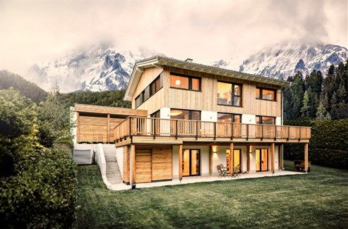 Fertighaus holz österreich  Fast jedes dritte in Österreich neu errichtete Ein- und ...