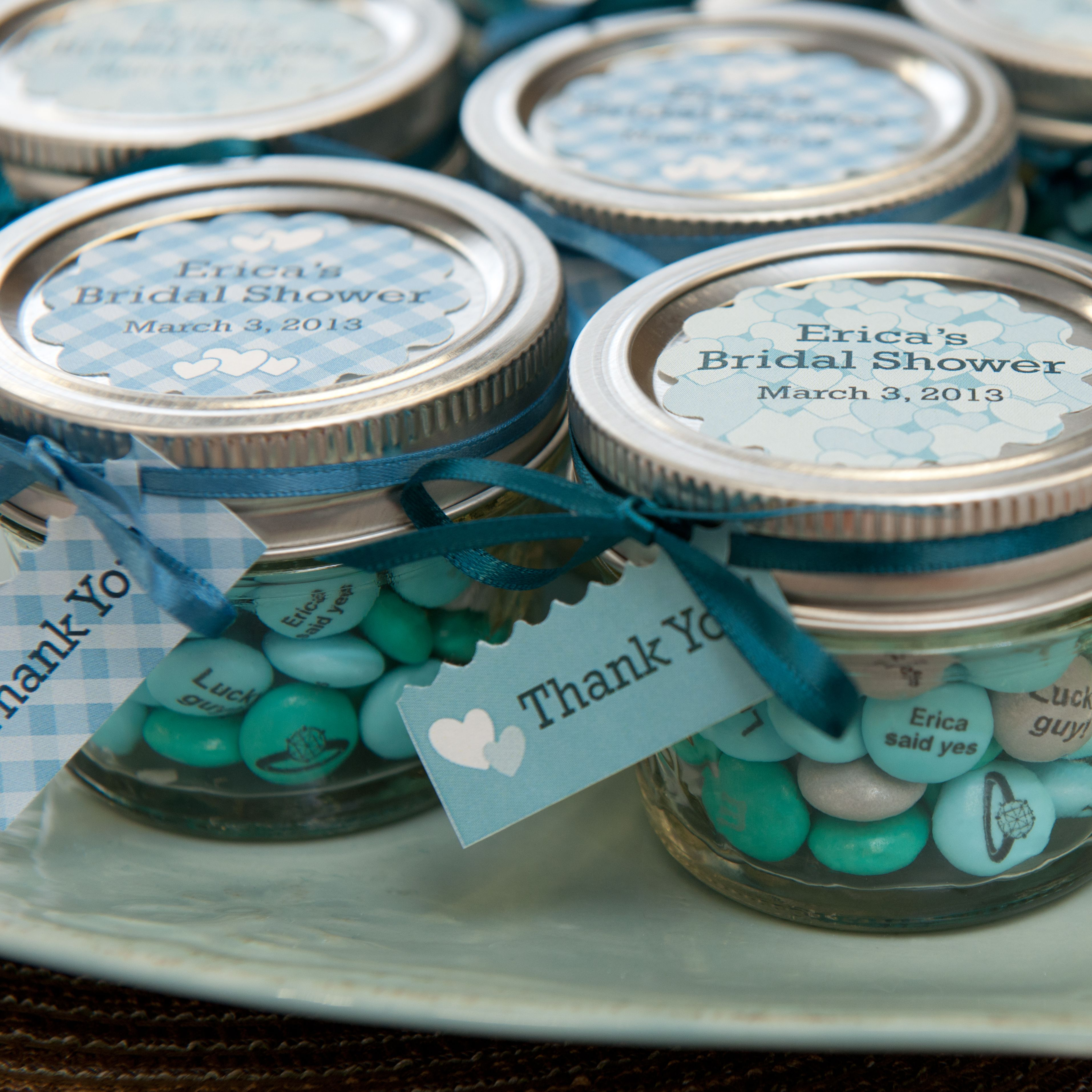 Sweetness in a jar for your bridal shower favors MYMMS  baby
